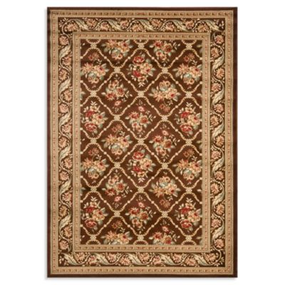 Safavieh Courtland 105-Inch x 144-Inch Room Size Rug in Brown