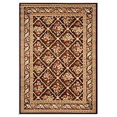 Safavieh Courtland 4-Foot x 6-Foot Room Size Rug in Brown