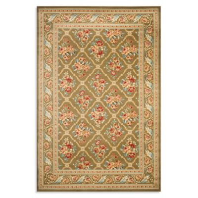 Safavieh Courtland 6-Foot 7-Inch x 9-Foot 6-Inch Room Size Rug in Green
