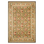 Safavieh Courtland 8-Foot 9-Inch x 12-Foot Room Size Rug in Green