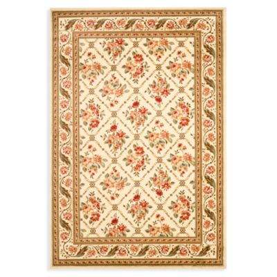 Safavieh Courtland 2-Foot 3-Inch x 12-Foot Runner in Ivory