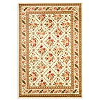 Safavieh Courtland 4-Foot x 6-Foot Accent Rug in Ivory