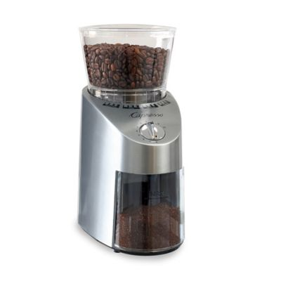 Capresso® Infinity Die Cast Conical Burr Grinder