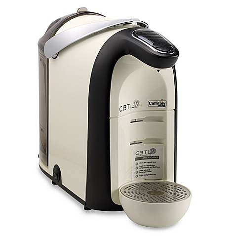 The Coffee Bean and Tea Leaf® CBTL™  Single Serve Beverage Machine - White