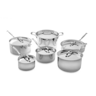 BergHOFF® Earthchef Acadian Stainless Steel 12-Piece Cookware Set