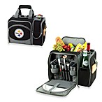 Picnic Time® Malibu Insulated Cooler/Picnic Basket in Pittsburgh Steelers
