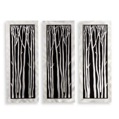 Silver Birch 3-Piece Wall Art