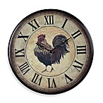 Small Rooster Wall Clock