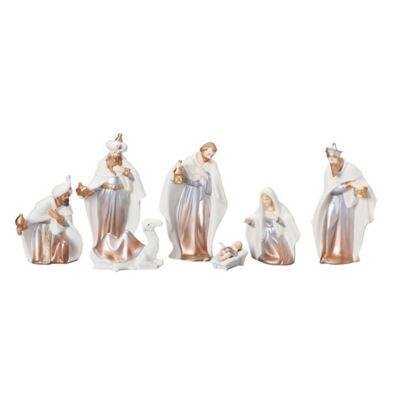 7-Piece Ombre Nativity Scene