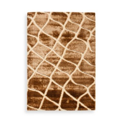 Safavieh Miami Shag Collection 4-Foot x 6-Foot Ettison Rug