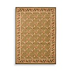 Safavieh Lyndhurst Collection Feodore 6-Foot 7-Inch x 6-Foot 7-Inch Square Rug in Green