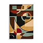 Safavieh Porcello Collection Gannon Black/Multi 2' x 3' 7