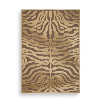 Safavieh Paradise Collection Mocha/Creme Harlequin 8-Foot x 11-Foot 2-Inch Rectangle Rug