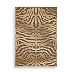Safavieh Paradise Collection Mocha/Creme Harlequin 2-Foot 7-Inch x 4-Foot Rectangle Rug