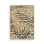 Safavieh Paradise Collection Harlequin 2-Foot 7-Inch x 4-Foot Rectangle Rug in Creme and Brown
