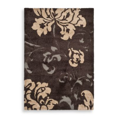 4' x 6 Brown Rectangle Rug