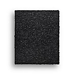 Safavieh Leather Shag 3-Foot x 5-Foot Rectangle Rug in Black