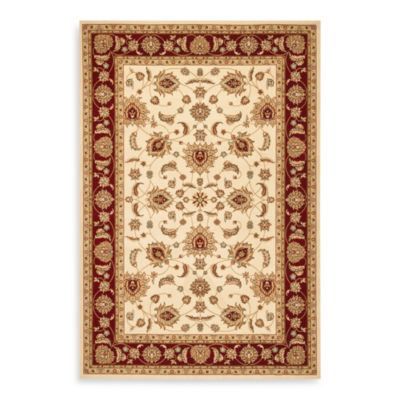Safavieh Majesty Collection Rugs in Crème/Red