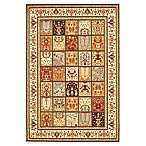 Safavieh Majesty Collection Block Pattern 8-Foot x 11-Foot Rectangle Rug in Multi and Crème