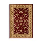 Safavieh Majesty 8-Foot x 11-Foot Rectangle Rug in Red and Camel