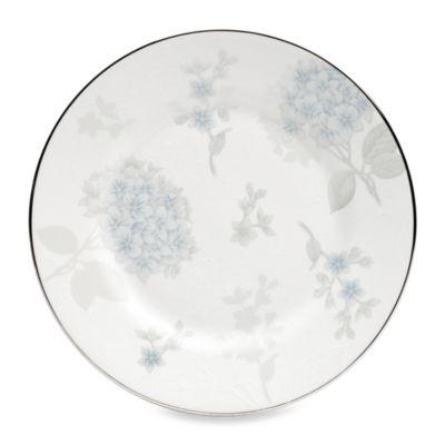 Wedgwood® Patina Platinum 8-Inch Hydrangea Salad Plate