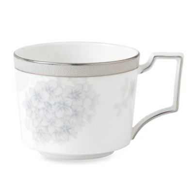 Wedgwood® Patina Platinum 8-Ounce Hydrangea Teacup