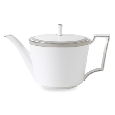 Wedgwood® Patina Platinum 32-Ounce Teapot