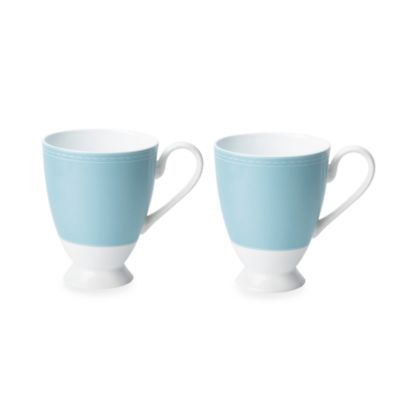 donna hay® for Royal Doulton® Pure Blue 5 1/2-Inch Mugs (Set of 2)