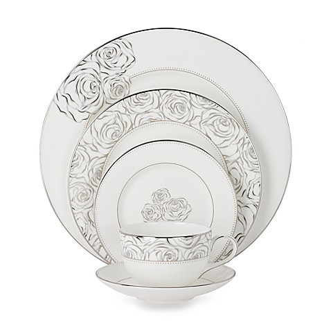 Monique Lhuillier Waterford® Sunday Rose 5-Piece Place Setting