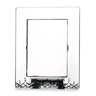 Waterford® Lismore Essence 5-Inch x 7-Inch Crystal Frame