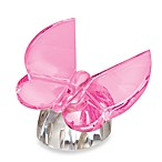 Waterford® Pink Butterfly Collectible