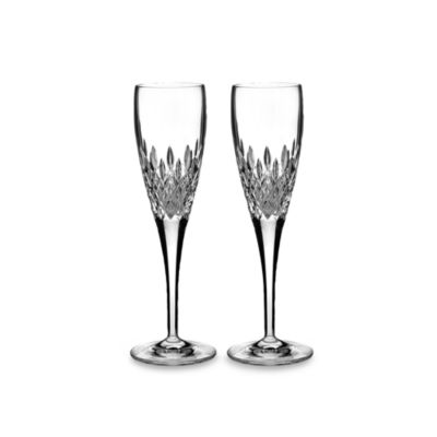 Monique Lhuillier Waterford® Arianne 6-Ounce Flutes (Set of 2)