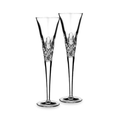 Monique Lhuillier Waterford® Ellypse 6-Ounce Flutes (Set of 2)
