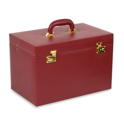 Wolf Designs Heritage Chelsea XL Heirloom Jewelry Trunk