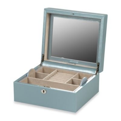Wolf Designs London Square Jewelry Box in Ice