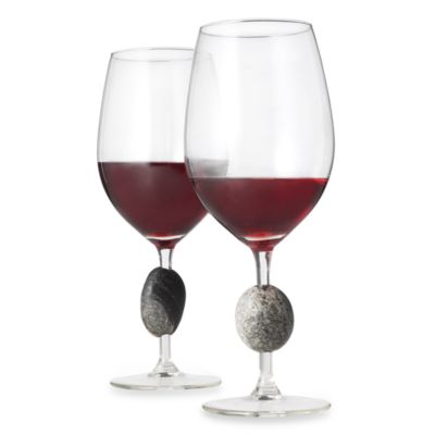 Sea Stones™ Wine Glasses (Set of 2)