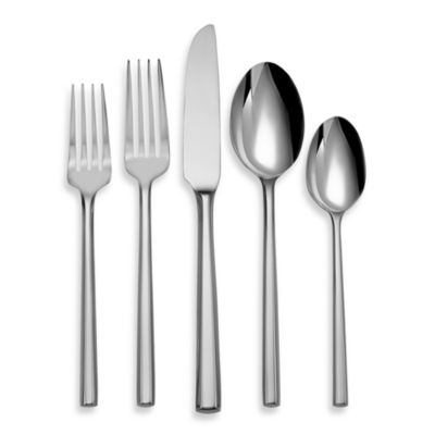 Oneida® Diameter 5-Piece Flatware Place Setting