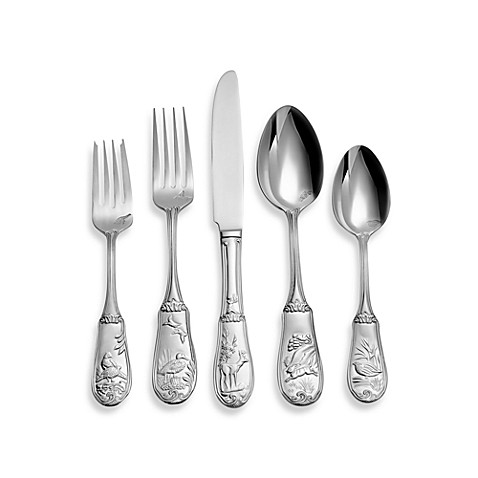Spode® Woodland 20-Piece Flatware Set