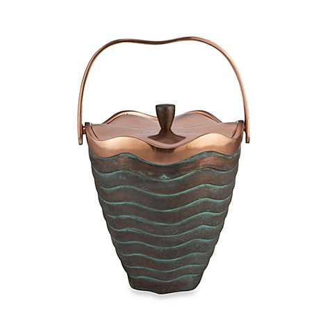 Nambe Copper Canyon Ice Bucket
