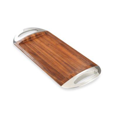 Nambe Grande Wood Tray