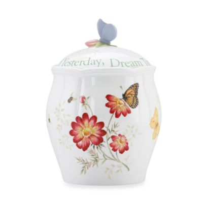 Lenox® Butterfly Meadow® Sentiment Cookie Jar