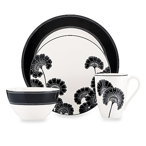 kate spade new york Japanese Floral 4-Piece Place Setting