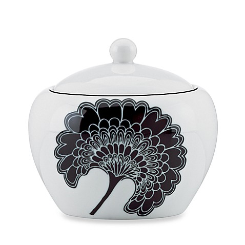 kate spade new york Japanese Floral 12-Ounce Covered Sugar Bowl