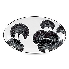 kate spade new york Japanese Floral Small 9 1/2-Inch Oval Platter