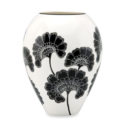 kate spade new york Japanese Floral 9 1/4-Inch Vase