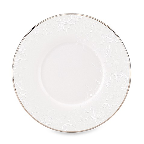 Marchesa by Lenox® Porcelain Lace 5 3/4-Inch Can Saucer