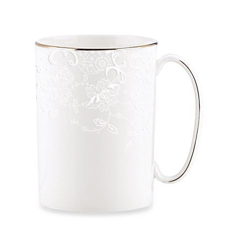 Marchesa by Lenox® Porcelain Lace 11-Ounce Mug