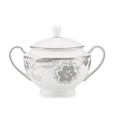 Lenox® Paisley Terrace 4 1/2-Inch Covered Sugar