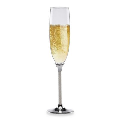 Lenox® Jubilee Pearl 7-Ounce Flutes (Set of 2)