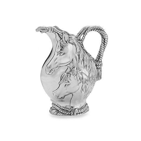 Arthur Court Designs Horse/Rope 2 3/4-Quart Pitcher